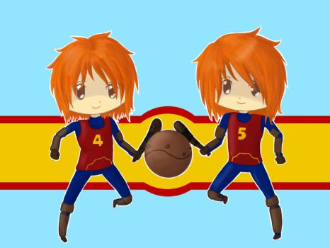 Fred and George Weasley by Toast2023