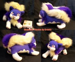 Skuntank Plushie by GrowlyLobita