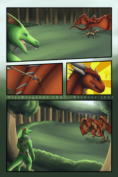 Commission - On The Hunt - Page 3/5 by FireDragon97