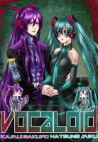 Vocaloid: Miku and Gakupo by alexielart