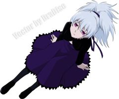 Darker than Black- Yin vec by Dradise