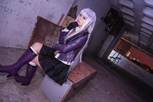 Danganronpa - Kyouko by Xeno-Photography