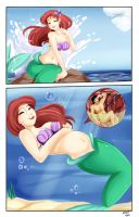 Ariel Swallows Gaston page5 by SaintxTail