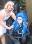 Saix and Namine by LadyNoxia