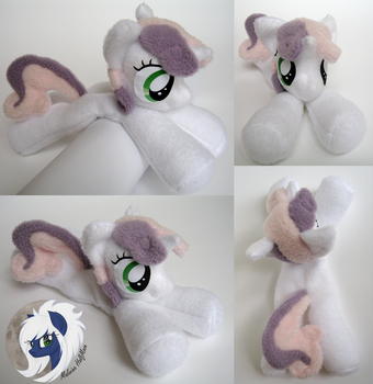 [FOR SALE] Sweetie Belle beanie pony plushie by MalwinaHalfMoon