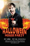 :: Halloween House Party Flyer Template :: by elliptyzzz