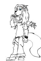 Eron Lineart by HTX-Wolf