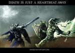 Death is just a heartbeat away by NeoSH