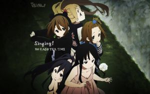 K-ON! Singing! Wallpaper by Kite136