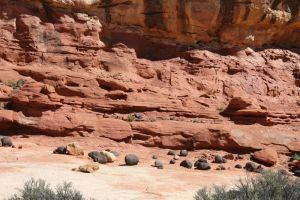 Red Rock Land by GreenEyezz-stock