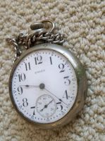 Chain and pocket watch stock by specialoftheweek