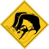 Road Sign: Contortionist by Autumn-Gracy