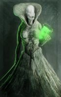 High priestess of the moon by semiconductor