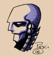 Roboskull colour by Rustyoldtown