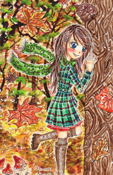 .:Enchanted Autumn:. by PinkPoink