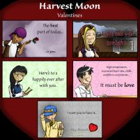 Harvest Moon Valentines by CrownePrince