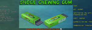 Shock chewing gum - download by Rolneeq