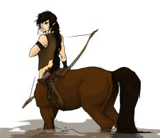 Centaur Sample Illustration by Pilgrimwanders