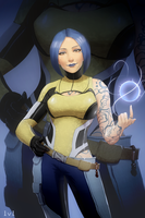 Borderlands 2 - Maya by Sentrythe2310
