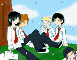 MCR - At School by V-a-L