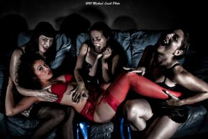 MLP Vampire Foursome Aug14 6590 by MichaelLeachPhoto