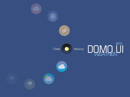 Domo Ui Weather (animated) by jimking
