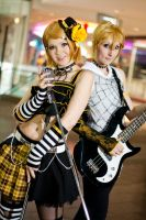 Kagamine Rin-Len :02: by breathless-ness