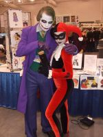 The Joker and Harley Quinn by SharinganWarrior77