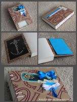 Notebook Anchor - coptic bound by FynnMitsuki