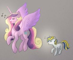 Singing with Mom by Mrs89fluffy
