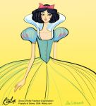 Disney Princess Snow White Fashion Exploration by RitaLux