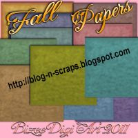 My Fall Papers by Bizee1