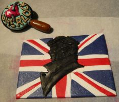 Sherlockian attempt in polymer clay by Bilou020285