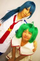 MACROSS Frontier Cosplay by RilaMuraki