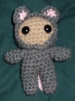 Mousey amigurumi by Sugarcoatidli3z
