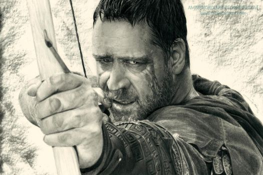 Robin Hood (Russell Crowe) by AmBr0