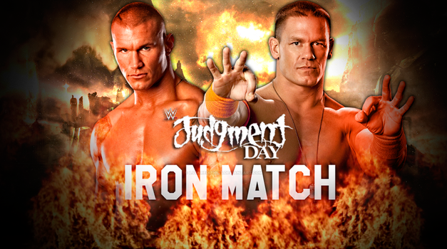 WWE Judgement Day Custom Match Card by LstarEditions