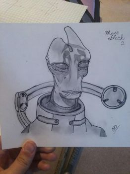 Mordin, Mass Effect 2-3 by Cheesecake2002
