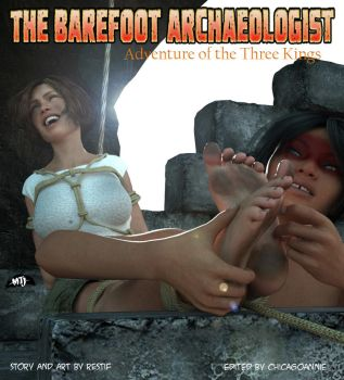 The Barefoot Archaeologist #5 Cover Art! by MTJpub