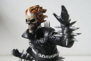 Ghost Rider with huge spikes by JokerZombie