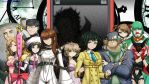 SteinsGate cosplay sprite wallpaper by Gws316