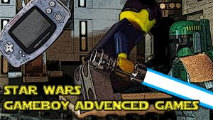 04 Star Wars Gameboy Advanced Games Title Card by Digger318