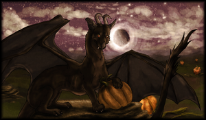 A Night in the Pumpkin Patch by Pred-Adopts