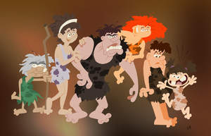The Croods by Chopfe