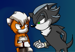 !!Dont Fox With Me Mephiles!! !!Collab!! by xlightbluesnowflakex