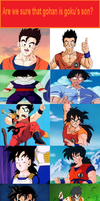 Gohan and Yamcha Looks yCrazly The Same by kagekyo