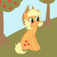 Applejack hates short hair by DeadGirlsLikeMe