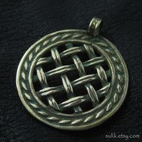 Bronze pendant from medieval Russia by Sulislaw