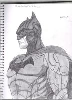 Batman by Pythagasaurus
