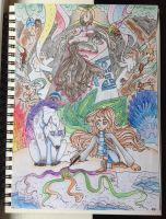 Colorful world by MacaronParadise